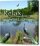 Relax Lake Time-jp2737 Canvas Print