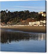 Relaxing At Ocean Beach San Francisco Canvas Print