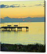 Relaxing Night In Fl Canvas Print