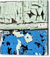 Remains Of A Door Canvas Print