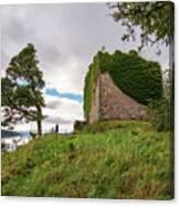 Remains Of Castle Lachlan Canvas Print