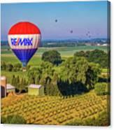 Remax Hot Air Balloon Ride Canvas Print