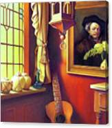 Rembrandt's Hurdy-gurdy Canvas Print