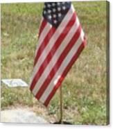 Remember Our Veterans Canvas Print