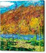 Remembering Autumn Canvas Print