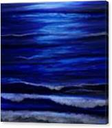 Remembering The Waves Canvas Print