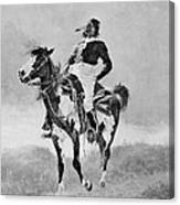 Remington: Comanche, C1890 Canvas Print
