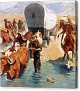 Remington: The Emigrants Canvas Print