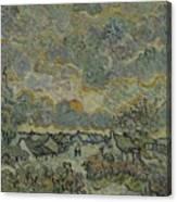 Reminiscence Of Brabant Saint Remy De Provence March - April 1890 Vincent Van Gogh 1853  1890 Canvas Print