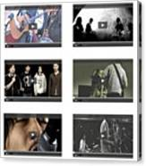 Remix - Videos  Page Canvas Print
