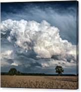 Remnants Of A Storm Canvas Print