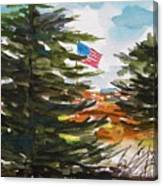 Remote Glory Canvas Print