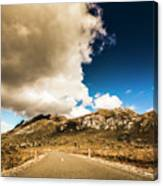 Remote Rural Roads Canvas Print