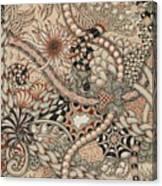 Renaissance Tangle Art Canvas Print