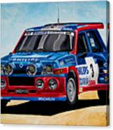 Renault 5 Maxiturbo Canvas Print