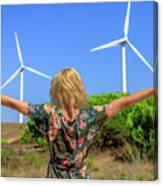 Renewable Energy Concept Canvas Print