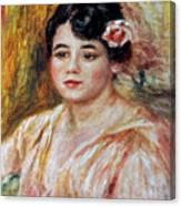 Renoir: Adele Besson, 1918 Canvas Print