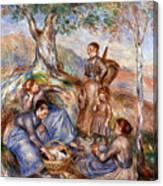 Renoir: Grape Pickers Canvas Print