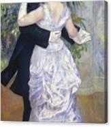 Renoir: Town Dance, 1883 Canvas Print