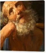 Repentant Peter 1637 Canvas Print