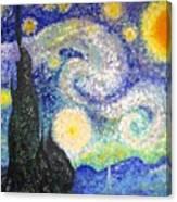 Replica Of Van Gogh Canvas Print