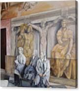 Reposo En El Vaticano Canvas Print