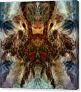 Repressed Temper Canvas Print