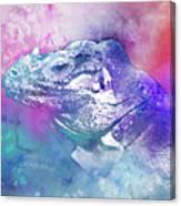 Reptile Profile Canvas Print