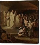 Rescue Captives In Times Of Carlos IIi Inglada Aparicio And Jose Canvas Print