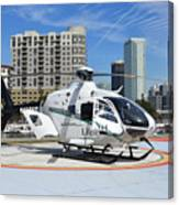 Rescue Helocopter Canvas Print