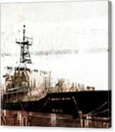 Research Vessel Atlantis In Astoria Oregon Canvas Print
