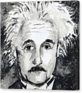 Resemblance To Einstein Canvas Print