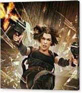 Resident Evil Afterlife Canvas Print