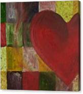 Resilience After Jim Dine Canvas Print