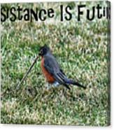 Resistance Is Futile Canvas Print