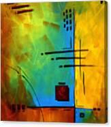 Resonating By Madart Canvas Print