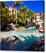 Resort Pool Canvas Print