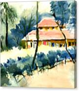 Rest House Canvas Print