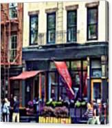 Restaurant In Chelsea Canvas Print