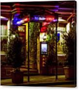 Restaurant Jeanne D'arc Canvas Print