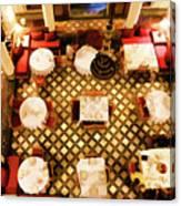 Restaurant Palais Des Merinides Fes Morocco Paint  Canvas Print