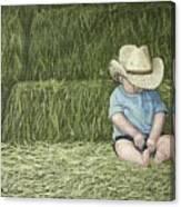 Resting Canvas Print