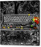 Resting Flowers Canvas Print