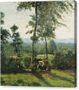 Resting In The Countryside Canvas Print