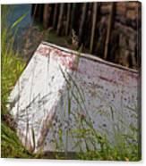 Resting Rowboat Canvas Print