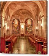 Resurrection Chapel Canvas Print