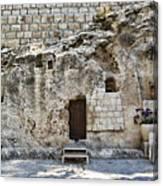 Resurrection - Garden Tomb Canvas Print