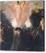 Resurrection Of The Dead Canvas Print