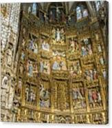 Retable - Toledo Cathedral - Toledo Spain Canvas Print