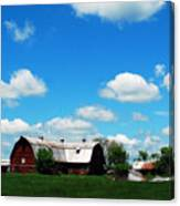 Retired Barn Canvas Print